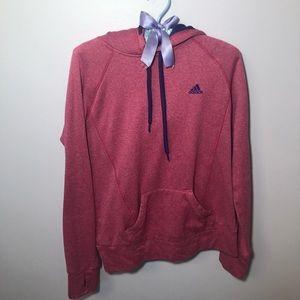 Adidas Pink Sweatshirt Small